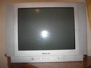 21'' flat screen wharfedale tv, good working condition,  silver colour,